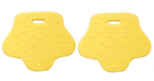 Teether Rings Animal Feet 2 Yellow
