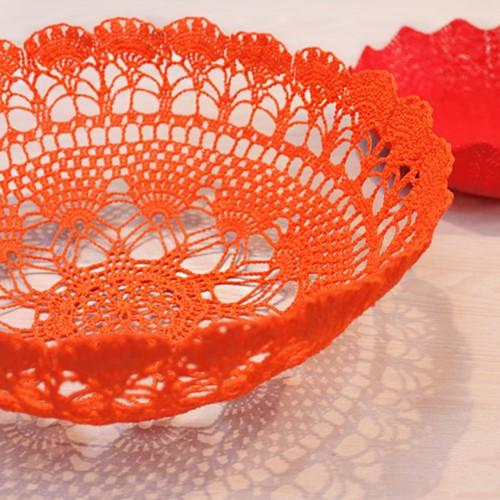 Crochet pattern bowl