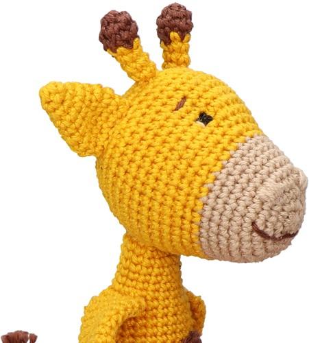 Crochet Pattern Yarn and Colors Gina Giraffe