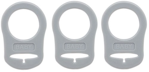 Silicone Pacifier Rings 11 Grey