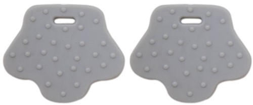 Teether Rings Animal Feet 6 Grey