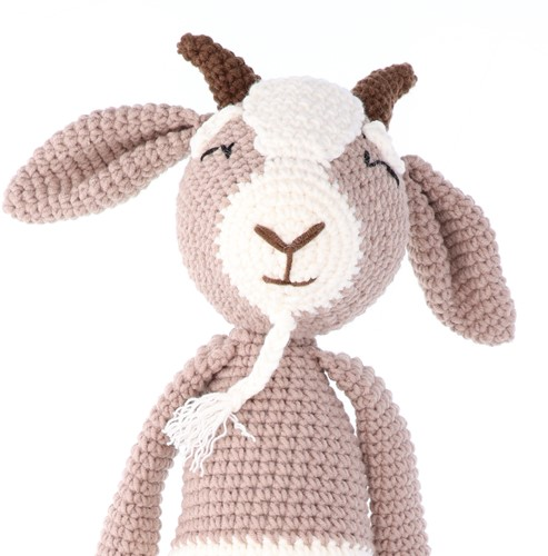 Crochet Pattern Yarn and Colors Gus Goat