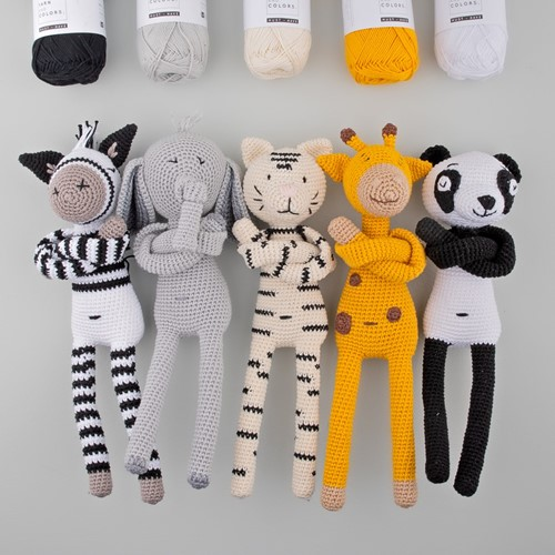 Yarn and Colors Zoo-Animals Crochet Kit