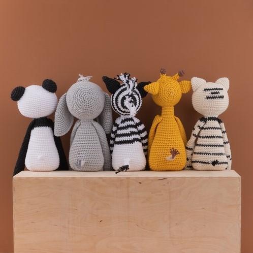 Crochet Pattern Yarn and Colors Pip Panda