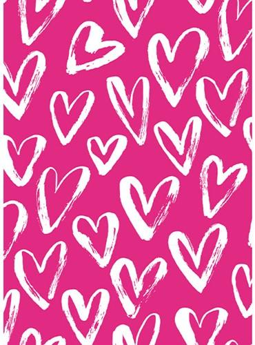 Yarnplaza Postcard - Hearts