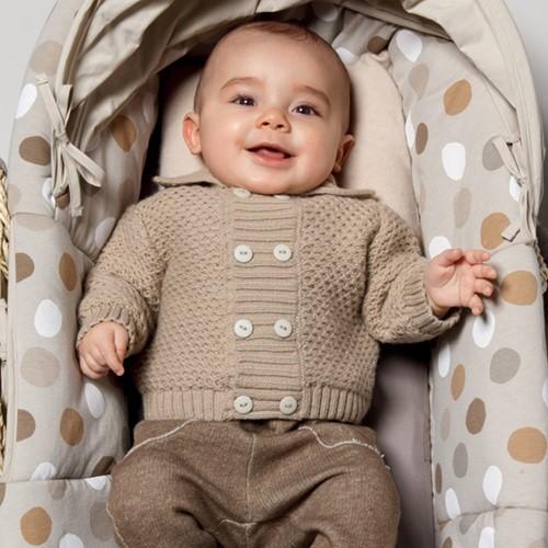Knitting Pattern Honeycomb Stitch Baby Vest