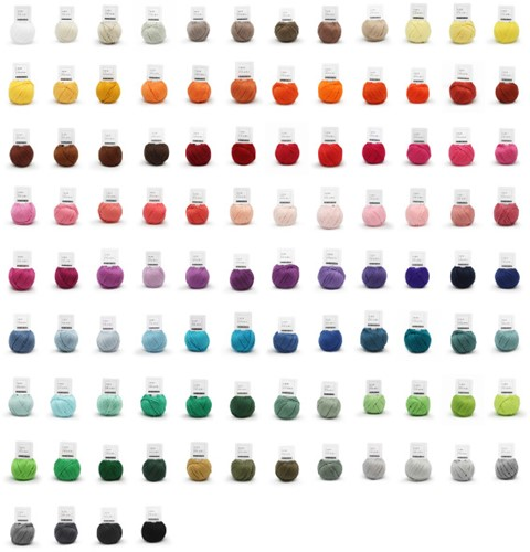 Yarn and Colors Must-Have Minis 100 Colour Pack