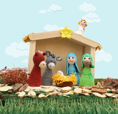 Nativity Scene Crochet Kit
