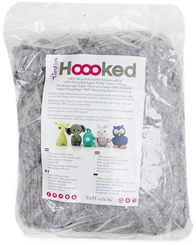 Hoooked 100% Recycled Cotton Filling 250 Gram Cloud