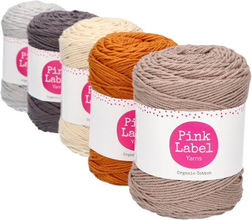 Organic Cotton Ripple Baby Blanket Crochet Kit 2