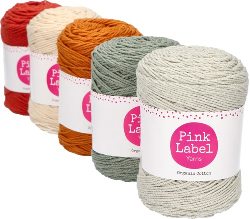 Organic Cotton Ripple Baby Blanket Crochet Kit 1