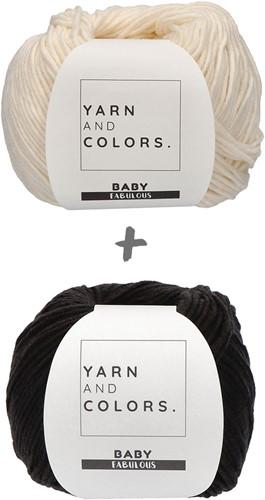 Yarn and Colors Classic Jumper Crochet Kit 2 Black S