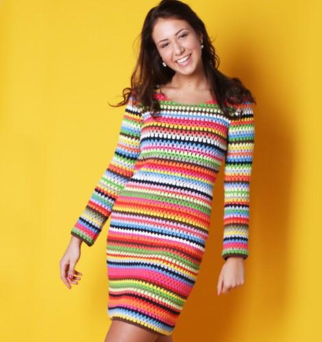 Crochet pattern Ibiza dress