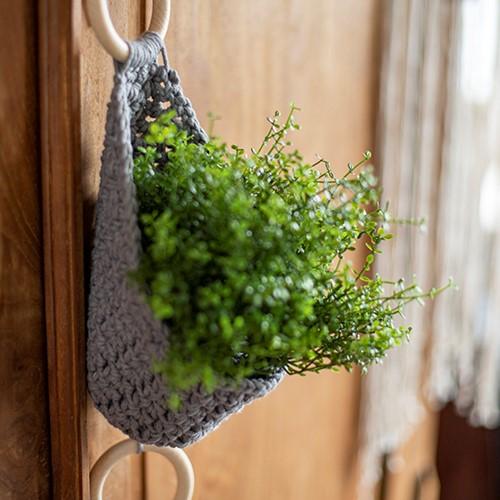 Home-Deco Plant Hanger Crochet Kit 2 Farmhouse