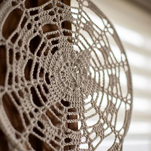 Home-Deco Dream Catcher Crochet Kit 2 Farmhouse