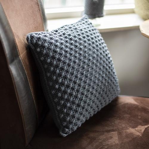 Home-Deco Bobble Cushion Crochet Kit 2 Farmhouse