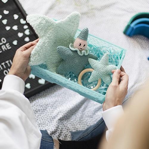Mom To Be Set Mint Star Crochet Kit