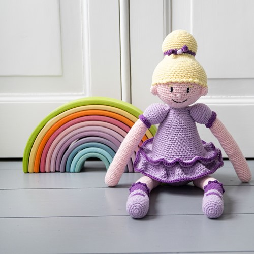 Crochet Pattern Ballerina Sofie Doll