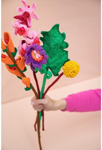 Crochet Pattern Spring Bouquet
