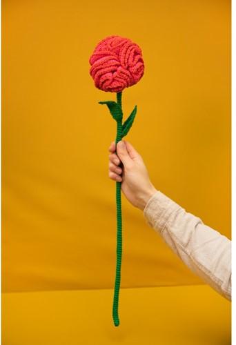 Crochet Pattern Mother's Day Flower
