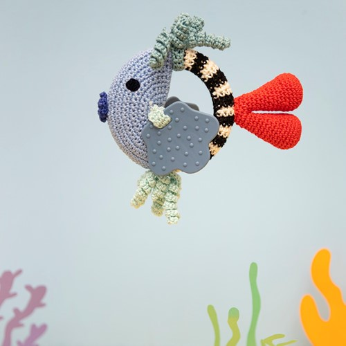 Fish Rattle Crochet Kit 2 Boy