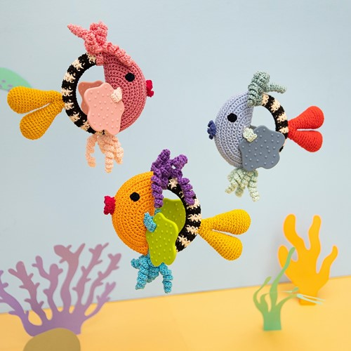 Crochet Pattern Fish Rattle