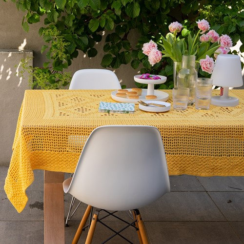 Dream Tablecloth 5.0 Crochet Kit 1 Sunflower