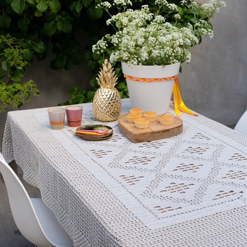Dream Tablecloth 5.0 Crochet Kit 2 Birch