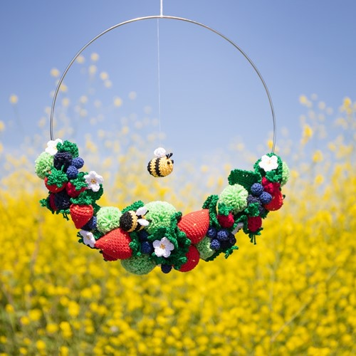 Summer Wreath Crochet Kit