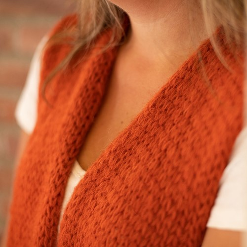 Knitting Pattern Bea Long Cardigan Without Sleeves