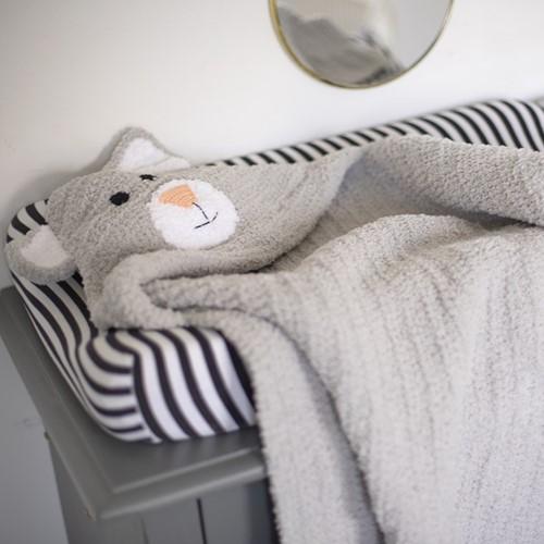 Crochet Pattern Yarnplaza Swaddle Blanket Cat