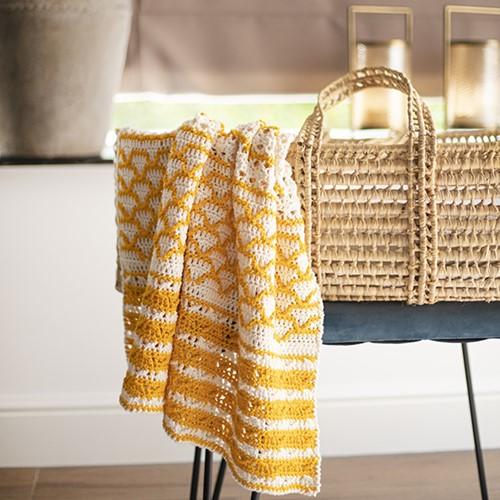 Crochet Pattern Baby Blanket Fabulous Gradient
