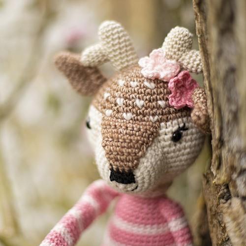 Crochet Pattern Spring Deer