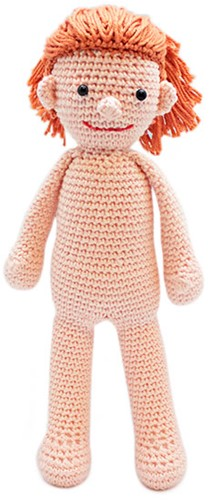 Dress up doll Suzy crochet kit