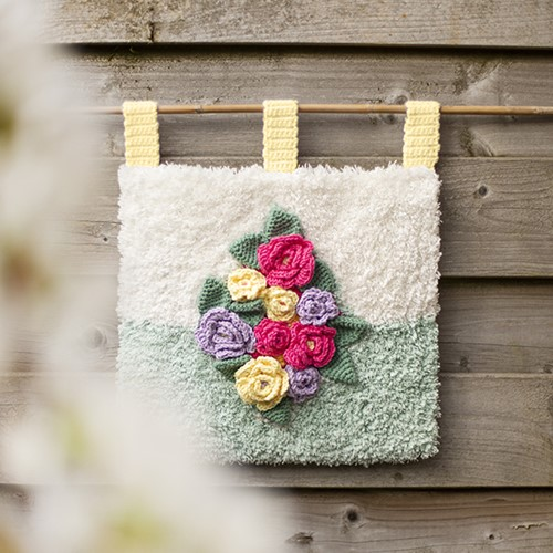 Latch Hook/Crochet Pattern Latch Hook Wall Hanging