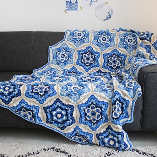 Delft Blanket Special DK Crochet Kit
