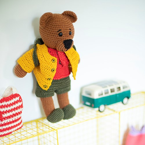 Crochet Pattern Dream Dress-Up Bear