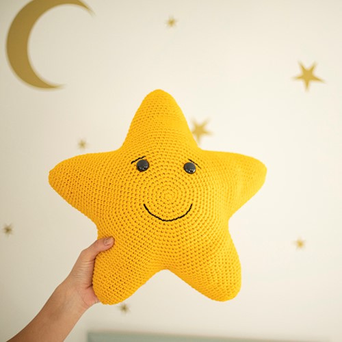 Crochet Pattern Dream Cushion & Music Box Star