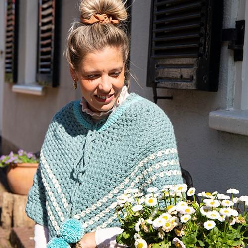 Crochet Pattern Budgetyarn Poncho