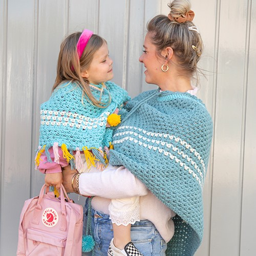 Crochet Pattern Budgetyarn Kids Poncho