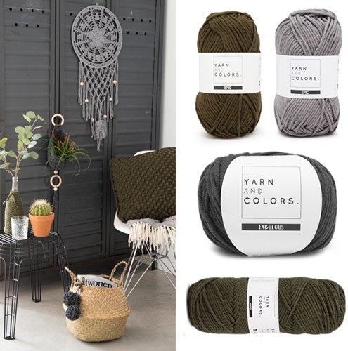 Home-Deco Crochet Kit Industrial