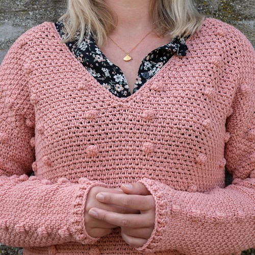 Crochet Pattern Yarn and Colors Junction Sweater