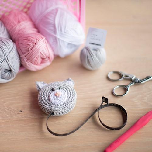 Crochet Pattern Yarnplaza Tape Measure Cat