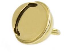 Cat Bell 15 mm Gold