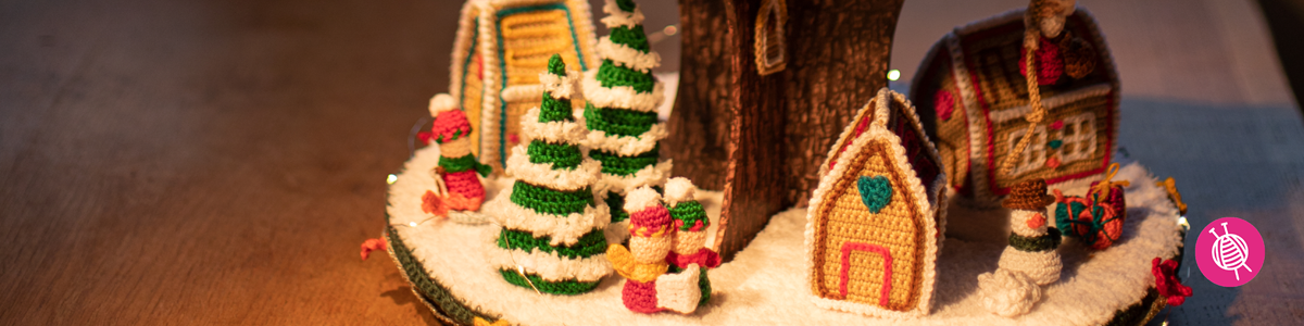 Christmas Village Advent CALendar - Crochet Patterns