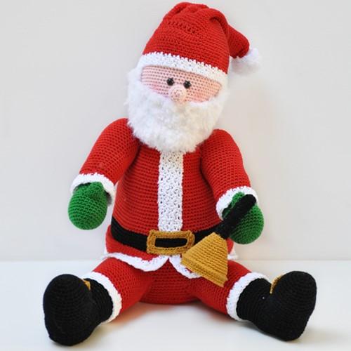 Santa Crochet Kit
