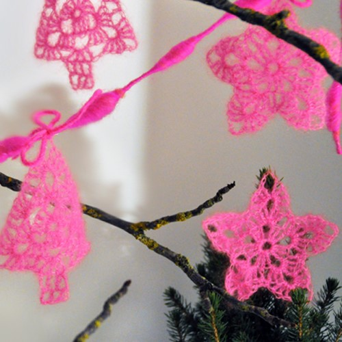 Crochet pattern Christmas decoration