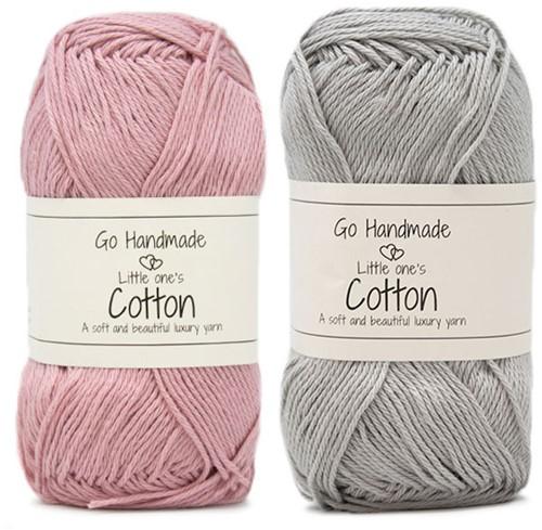 Go Handmade Baby Garland Octopus Crochet Kit 1 Pink