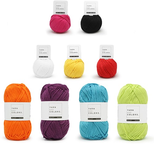 Funky Bird Crochet Kit 1
