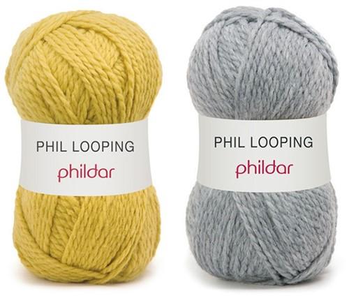 Looping ladies cardigan knit kit 1 - 50/52